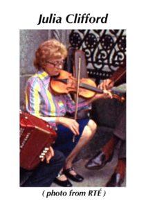 cilia Clifford World Fiddle Day Scartaglin Trad Irish