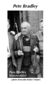 Pete Bradley World Fiddle Day Scartaglin Trad Irish